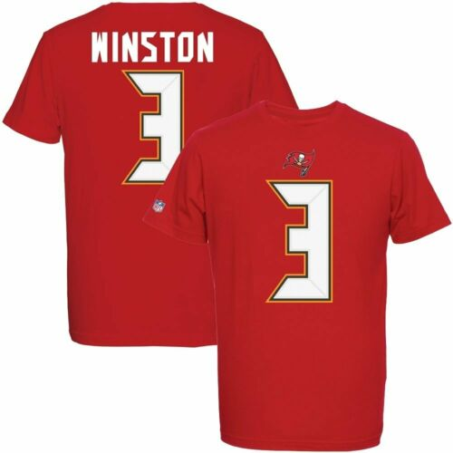 NFL T-Shirt Tampa Bay Buccaneers Jameis Winston 3 Redburn Football Trikot Jersey