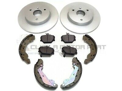 SMART CAR FORTWO CITY COUPE CONVERTIBLE ROADSTER FRONT 2 BRAKE DISCS NEW