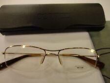 Oliver Peoples Fosse CG Rx Eyewear 52-17-140 Light Gold Frame, New!