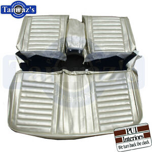 Image Is Loading 1967 Cutlass Holiday Front Amp Rear Seat Covers
