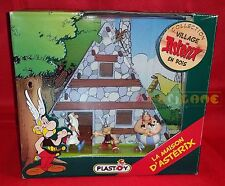 COLLECTION VILLAGE ASTERIX (Obelix Panoramix) Plastoys 2002 - Fondo Magazzino CZ