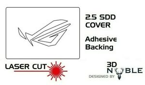 2.5inch SSD//HDD SATA Hard Drive Cover Plate INTERNAL SOLID WHITE ASUS ROG