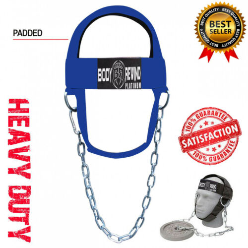 HEAD HARNESS for NECK Exercise TRAINING STRENGTH Workout /& WEIGHTLIFTING Strap C