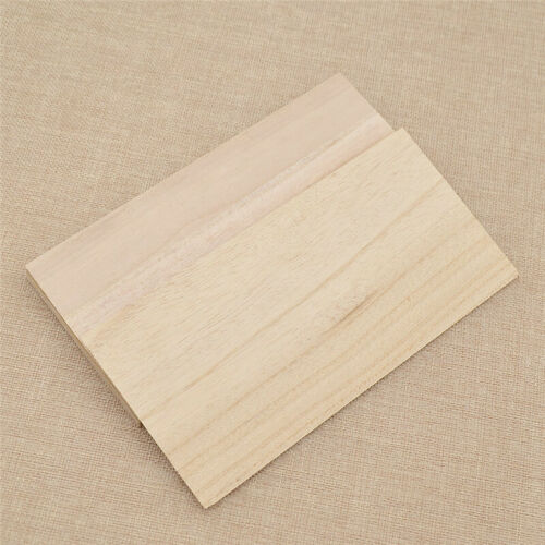 10pcs Wooden Plate Model Balsa Wood Sheets for DIY House Ship Aircraft 200x100mm