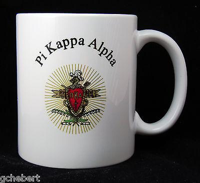 Pi Kappa Alpha, ΠΚΑ, Crest Coffee Mug NEW