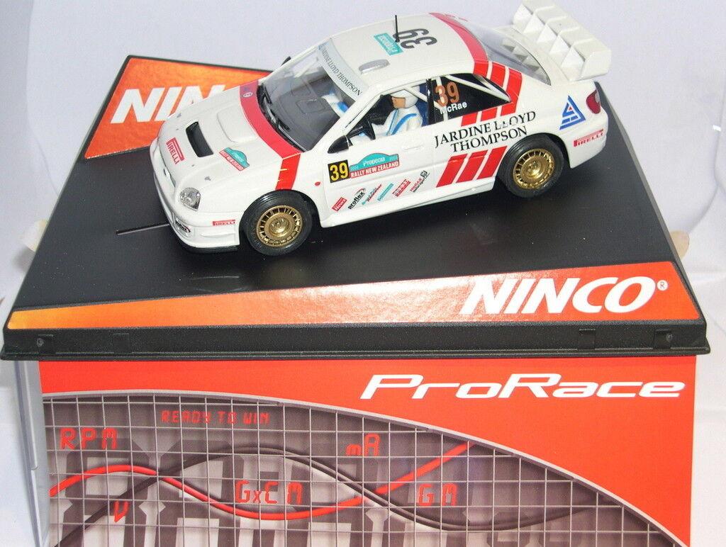 NINCO 50357 SUBARU IMPREZA WRC  39 PRORACE  NEUF ZELAND '04  C.McRAE-D.RINGER MB
