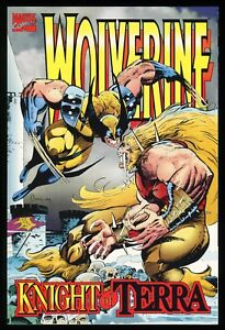 Wolverine-Knight-of-Terra-Graphic-Novel-GN-Trade-Paperback-TPB-X-Men-Wolfsbane
