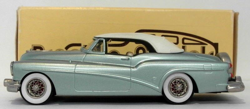 Brooklin 1 43 Scale BRK20 001 - 1953 Buick Skylark Convertible - Met Lgt Verden