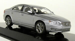 Norev-1-43-Scale-Volvo-S80-Saloon-Electric-Silver-Diecast-Model-Car