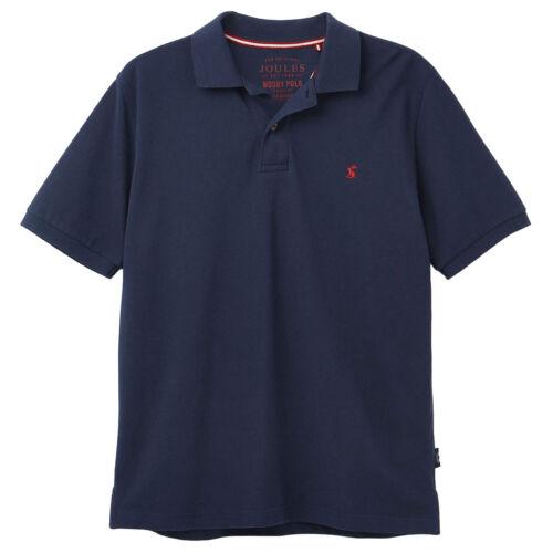 Joules Woody Classique T-Shirt Homme Polo Shirt-Bleu Marine Toutes Les Tailles