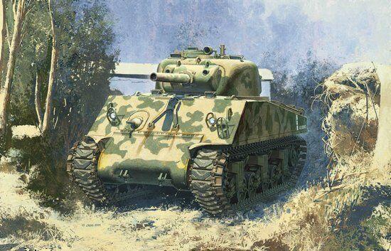 Dragon 6548 1 35 US Sherman M4 (105) Howitzer Tank