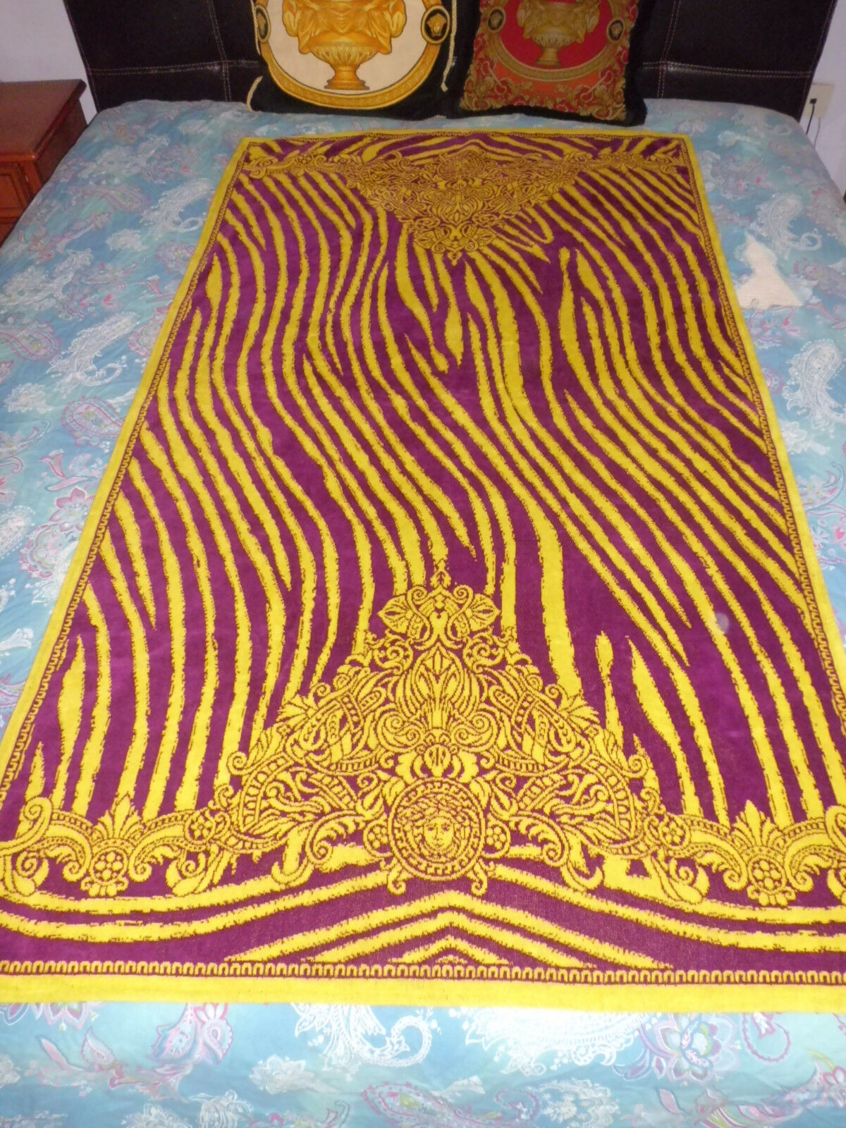 Versace Home Beach Towel  Telo  Mare  Medusa Nuovo