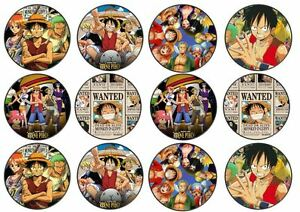 24 One Piece Japanese Anime Edible Wafer Disc Cupcake Toppers - <span itemprop=availableAtOrFrom>Darlington, Durham, United Kingdom</span> - Returns are not accepted for edible/perishable goods. Returns will be accepted on all other items if items are in original packaging, untampered and accountable. Return postage - Darlington, Durham, United Kingdom