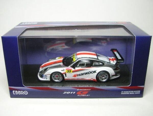 Porsche 911 gt3 rsr Nº 33 super gt300 2011