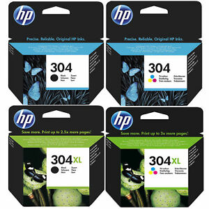 Original-HP-304-304XL-Black-amp-Colour-Ink-Cartridges-For-AMP-130-Printer