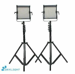 CAME-TV-576D-Daylight-LED-Panel-Video-Studio-light-2-Piece-Set-Led-Video-Light