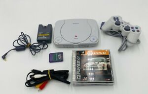 Sony-PlayStation-1-PSOne-Slim-Console-Bundle-with-4-Games-Controller-Memory-Card