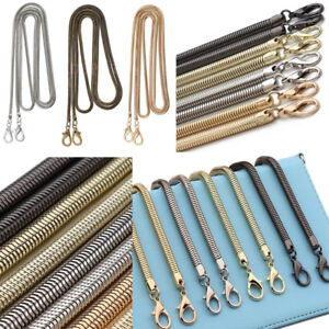 Image Is Loading Replacement Bag Strap Snake Chain For Handbag Crossbody