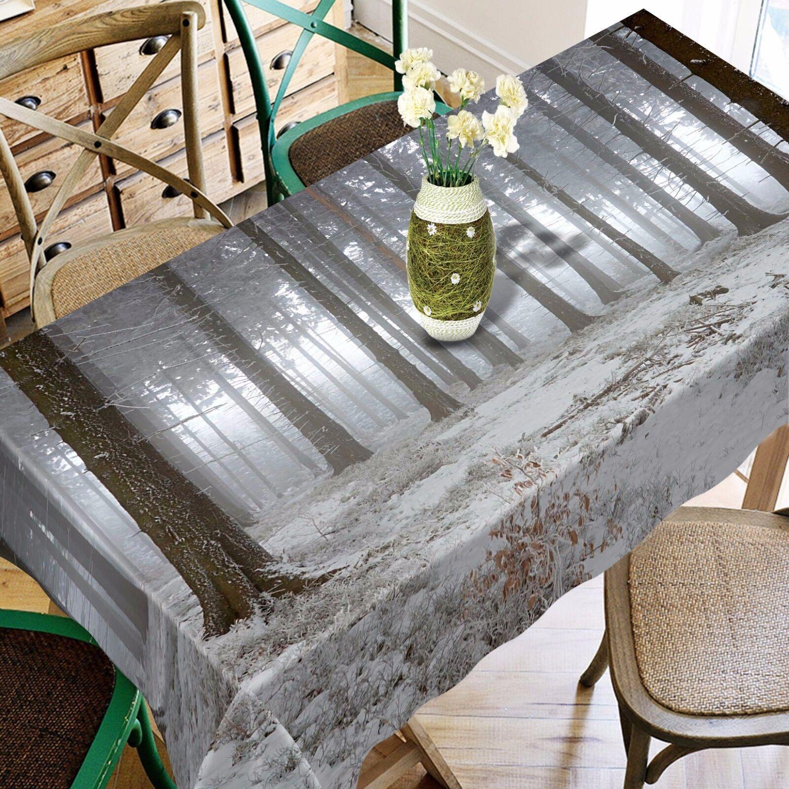 Jonction 3D 4 Nappe Table Cover Cloth fête d'anniversaire AJ papier peint Royaume-Uni Citron