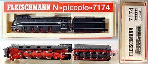 Fleischmann 7174– Loco Vapore avec tender Br 01 1059– Drg - Ep.   Ii