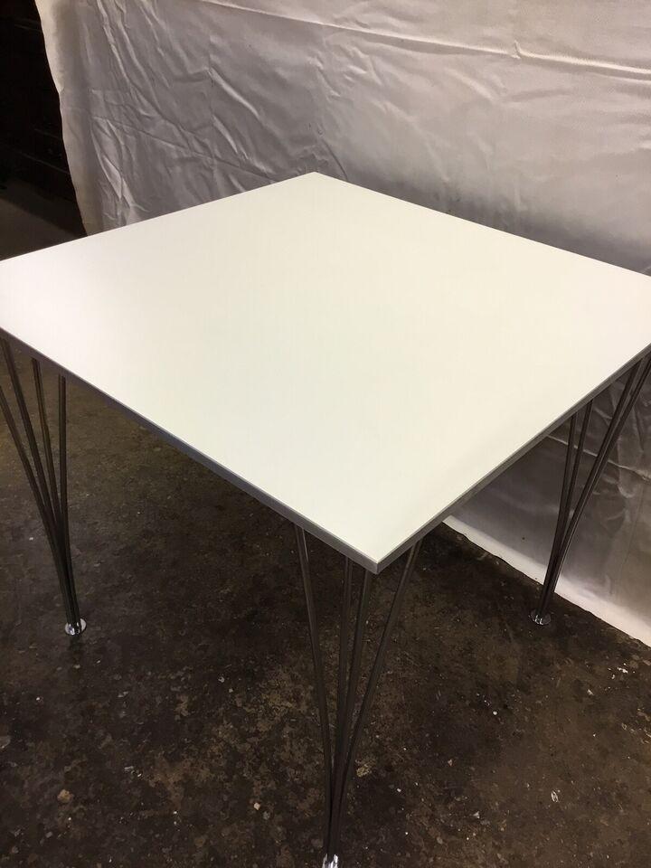 Piet Hein, X031, Kvadratisk spisebord 80x80 og 71 cm høj