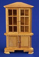 Dolls House 12th Scale Corner Cabinet Pine NB486