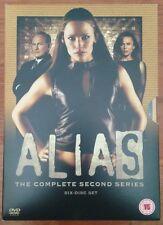 Alias The Complete Second Series NEW Region 2 Season Two 2nd Bradley Cooper