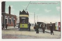 Sutton Tram Terminus West Croydon Postcard B616