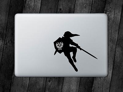 Link Loftwing Sticker Legend Of Zelda Decal Apple MacBook iPad Laptop Car Window