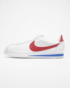 88e3776cdc0f Nike Classic Cortez Leather QS NAI KE 885723-164 Forrest Gump White ...