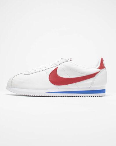 Nike Classic Cortez Leather QS NAI KE 885723-164 Forrest Gump White OG Mens Shoe