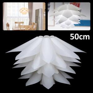 Lotus-Light-50-CM-DIY-IQ-Puzzle-Jigsaw-Pendant-Light-Shade-Ceiling-Lampshade-UK