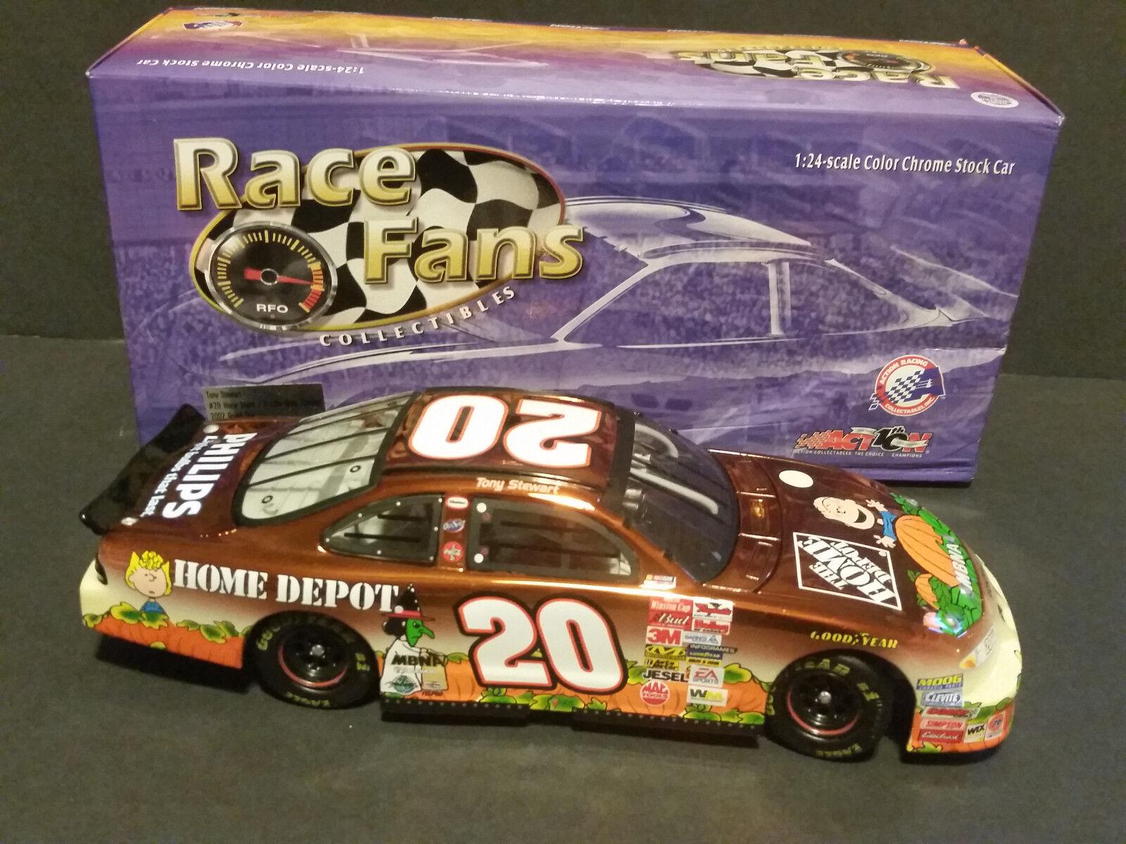 disfruta ahorrando 30-50% de descuento 2002 Tony Stewart acción 1 1 1 24 Peanuts Gran Calabaza Pontiac Grand Prix   20  las mejores marcas venden barato