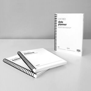 A5 white Doteplanner Planners&Organizers Diary (3EA)