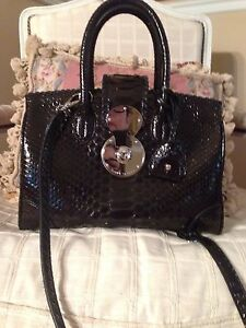 Image is loading Ralph-Lauren-Python-Ricky-Bag 4cdce70a488c3