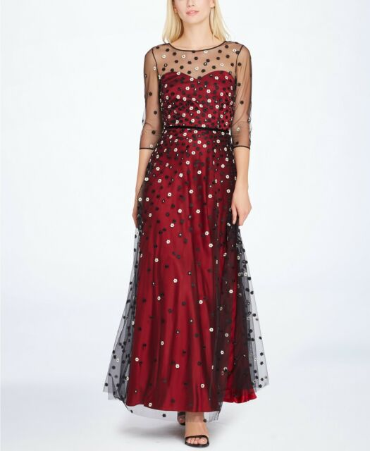 30ced62626dc Tahari ASL Embroidered Sweetheart Illusion Gown MSRP $299 Size 6 # 3A 186  NEW