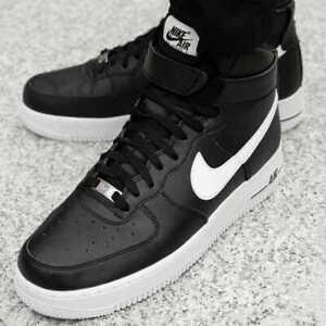 nike air force 1 high black white