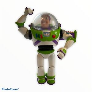 """Toy Story 12"""" Talking Action Lights Buzz Lightyear Disney/Pixar Andy On Foot"""