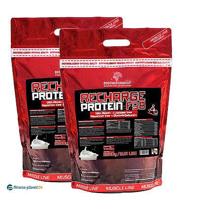 5000g Recharge Protein F 98% - Premium  Eiweiß + Mega Bonus