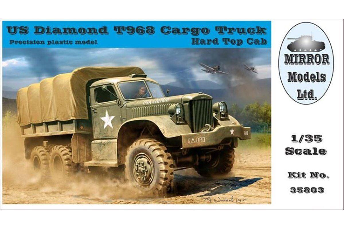 Mirror Models 35803 1 35 US Diamond T968 Cargo