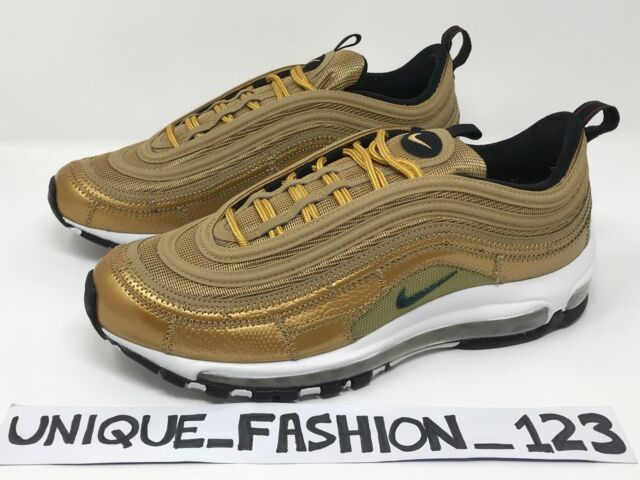 40a4f277adf298 NIKE AIR MAX 97 CR7 X CRISTIANO RONALDO US 9 8 42.5 RAGS TO RICHES GOLD