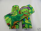 Teenage Mutant Ninja Turtles Burp Cloths x 3 Towelling Backed GREAT GIFT IDEA!!