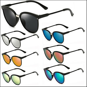 Black-Round-Frame-Sunglasses-Fashion-Mens-Womens-Retro-Glasses-Outdoor-Eyewear