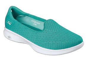 Skechers NEW Go Step Lite Origin teal teal teal flat Damens's comfort schuhe ... a1aa08