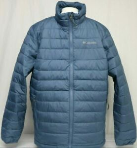 Columbia Oyanta Trail Mens Puffer Jacket Thermal Coil Mystery Navy Black M L XL