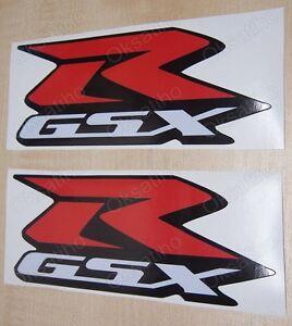 SUZUKI GSXR FAIRING DECALS STICKERS 600 750 1000 1100 TANK BIKE MOTORCYCLE GSX-R