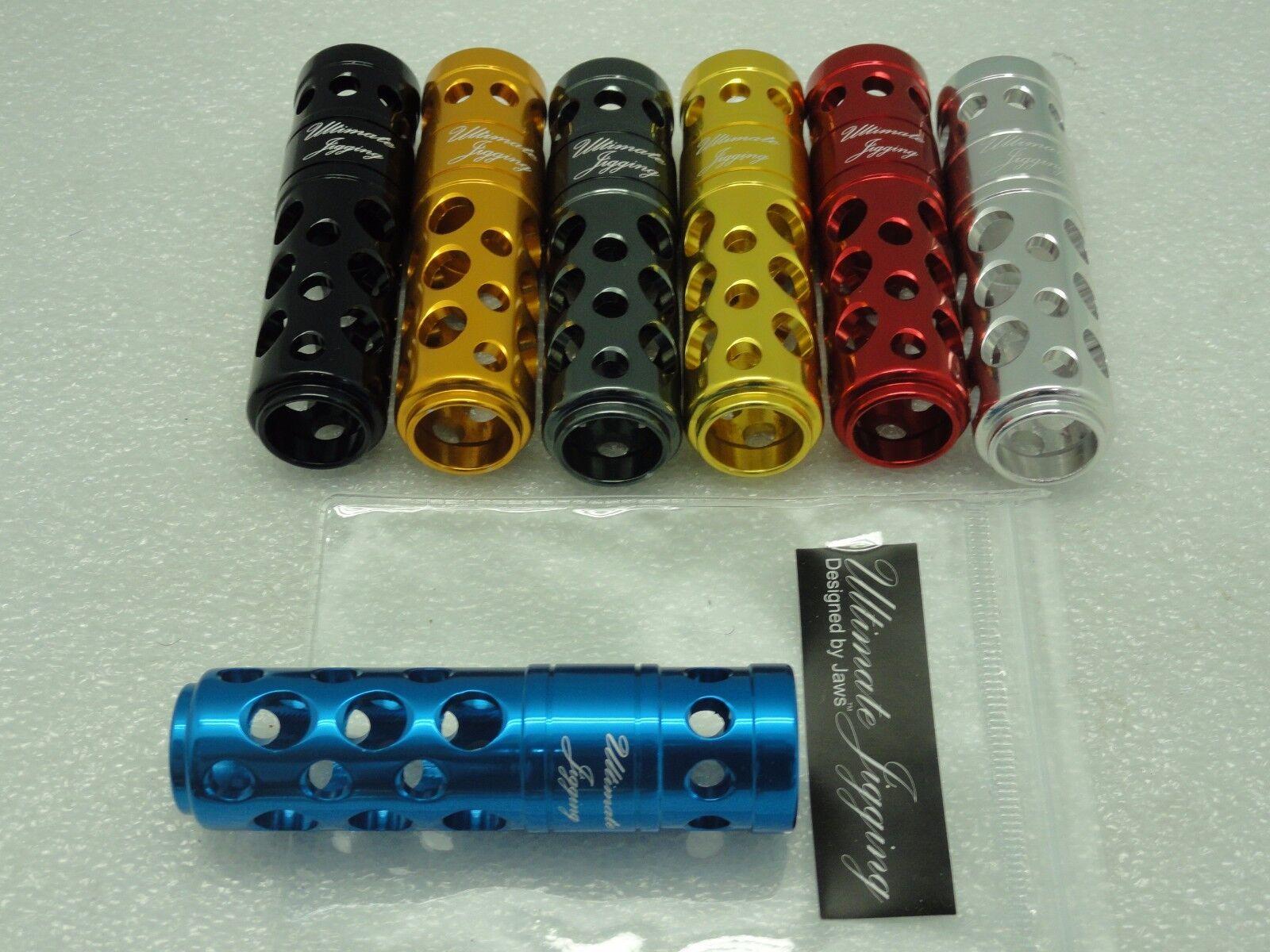 UJ T-BAR T052D handle knob direct fit on DAIWA SALTIST SALTIGA reel D shaft bluee