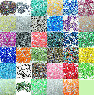 FREE SHIPPING LOOSE charm 2000pcs 2mm glass seed beads crafts DIY