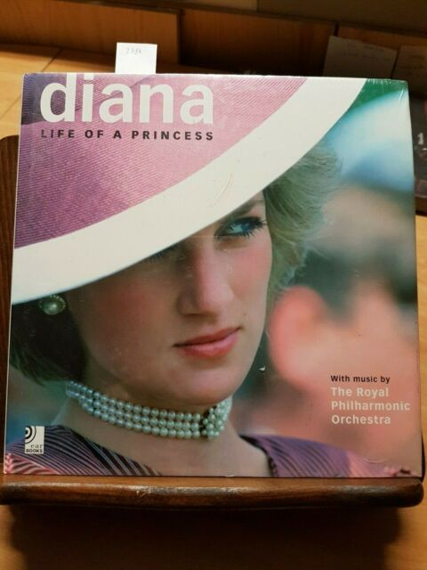 DIANA LIFE OF A PRINCESS - EAR BOOKS 2 CD QUEEN-ELTON JOHN-INCELLOPHANATO (3784)