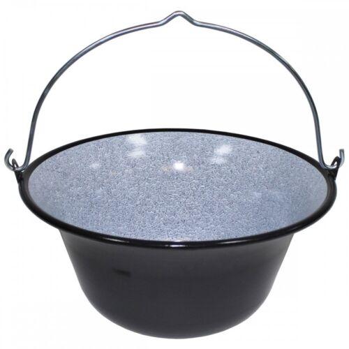 gulaschkessel email goulash caldera acampar cocinar Glühwein ponche olla Ungar